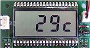 MSP430F評価ボードVMSP430-F47177 温度表示モード
