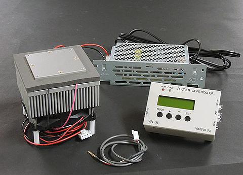 ペルチェ温度コントローラセット「VPE35-12-40S」