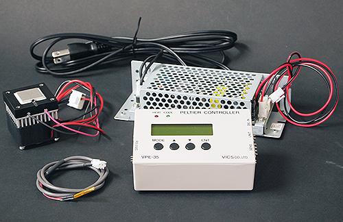 ペルチェ温度コントローラセット「VPE35-5-20SS」