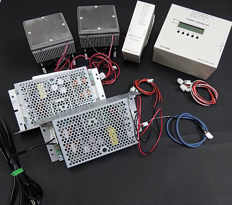 ペルチェ温度コントローラセット「VTH3K-70S」
