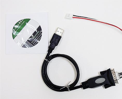 RS232C-USB変換ケーブルセット