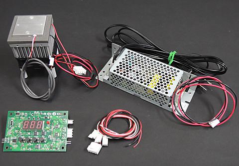 ペルチェ温度コントローラセット「VEC20A-30S」