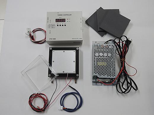ペルチェ温度コントローラセット(VTH1K-70S-W)