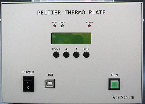ペルチェ恒温庫ITH-300Aフロントパネル