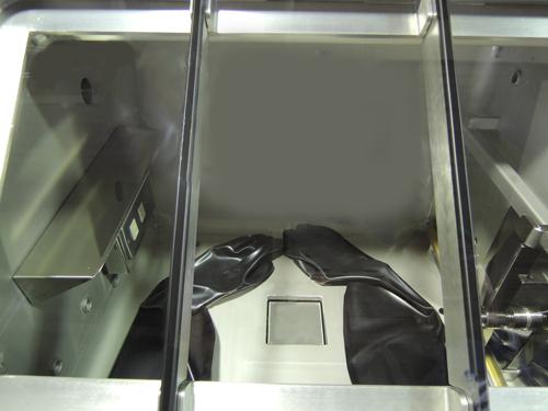 温調機付真空型グローブボックス GBWLVPU70-5K-V080