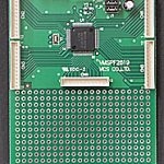 MSP430ベースボード(評価ボード)VMSP430F2619