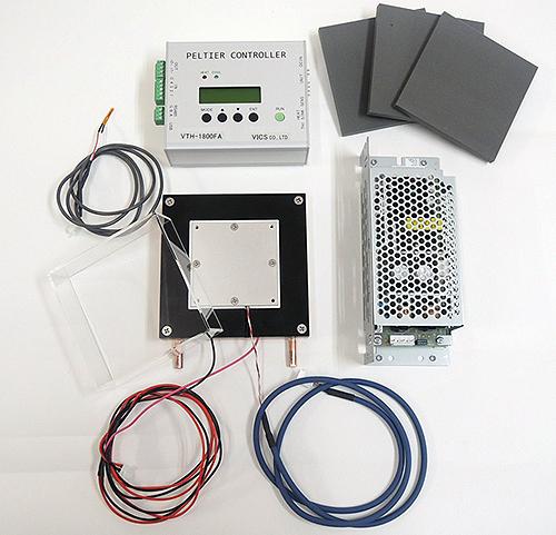 ペルチェ温度コントローラVTH1.8K-40S-W