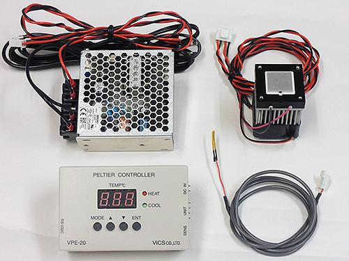 ペルチェ温度コントローラVPE20-5-20TS