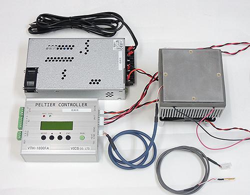 ペルチェ温度コントローラVTH1.8K-70S